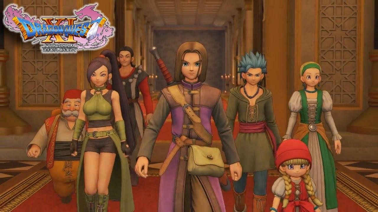 Dragon Quest XI: Echoes of an Elusive Age   Novo trailer apresenta os personagens do game