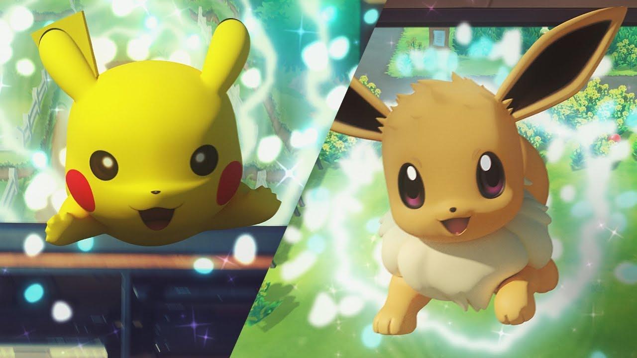 Pokémon Let's GO Pikachu e Eevee | Novo vídeo mostra a customização dos Pokémon
