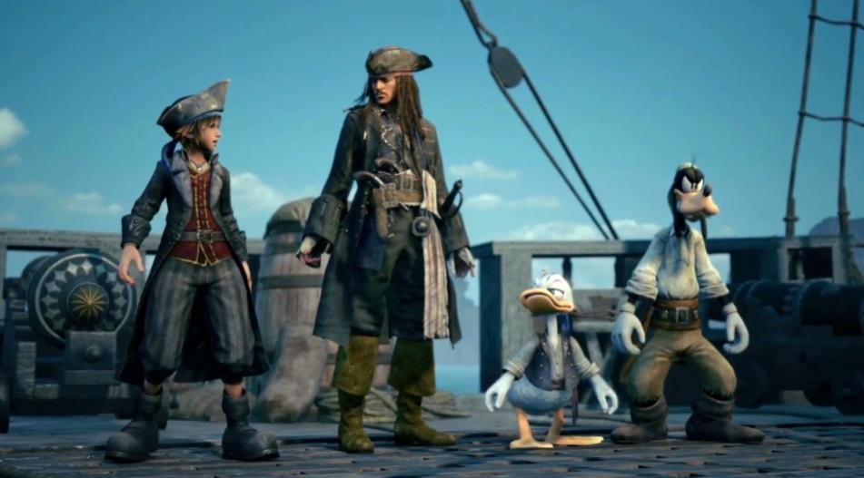 Kingdom Hearts III   Novo trailer revela mundo de Piratas do Caribe
