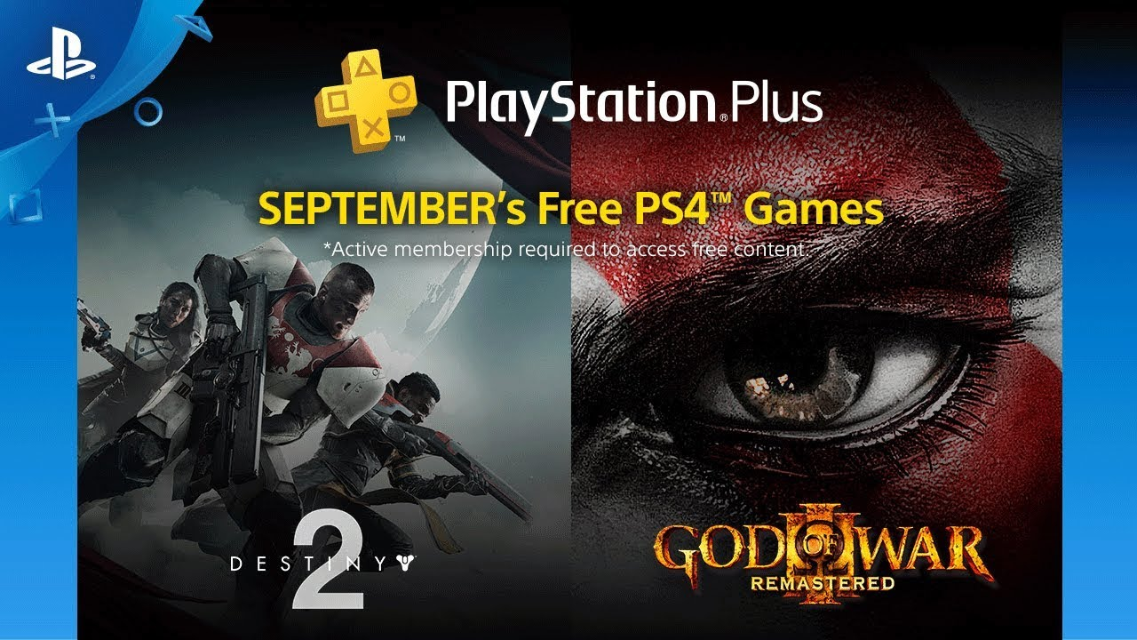 Playstation Plus | Destiny 2 e God of War III estão entre as ofertas gratuitas de setembro