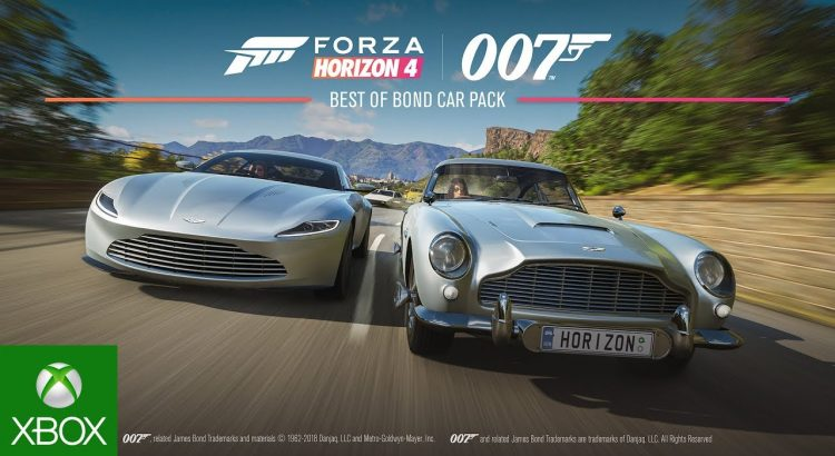 Forza Horizon 4 Novo Trailer Apresenta Os Carros De James Bond Pipoca Games