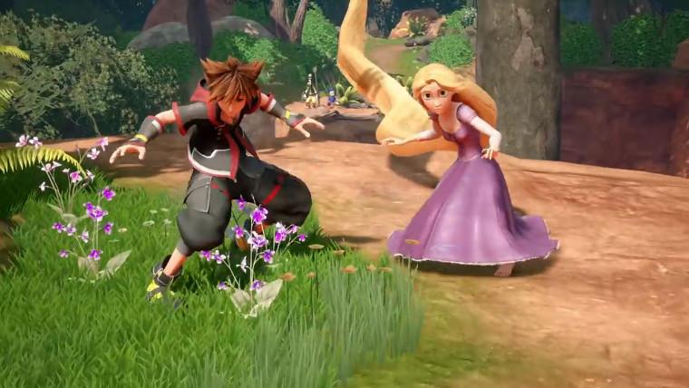 Kingdom Hearts III | Novo trailer apresenta o mundo de Enrolados