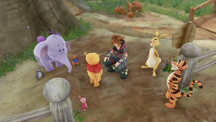 Kingdom Hearts III   Novo trailer apresenta mundo do Ursinho Pooh