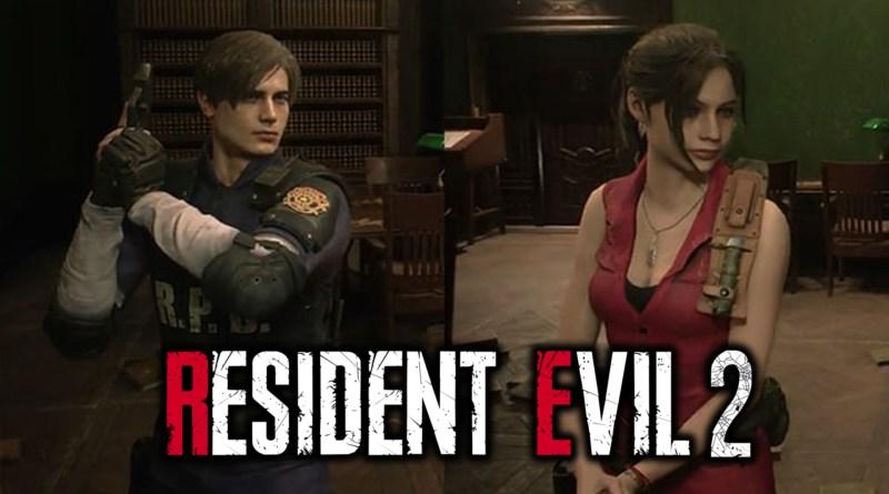 Resident Evil 2 | Jogo terá visuais clássicos de Leon e Claire