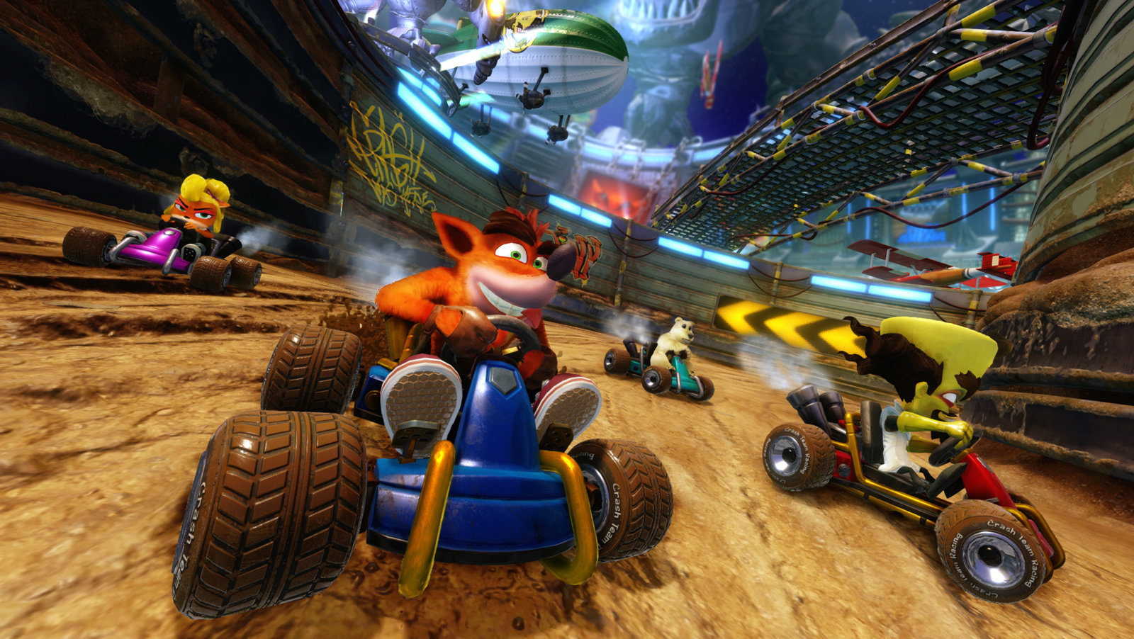 Crash Team Racing Nitro-Fueled | Versão remasterizada de Crash Team Racing é anunciado
