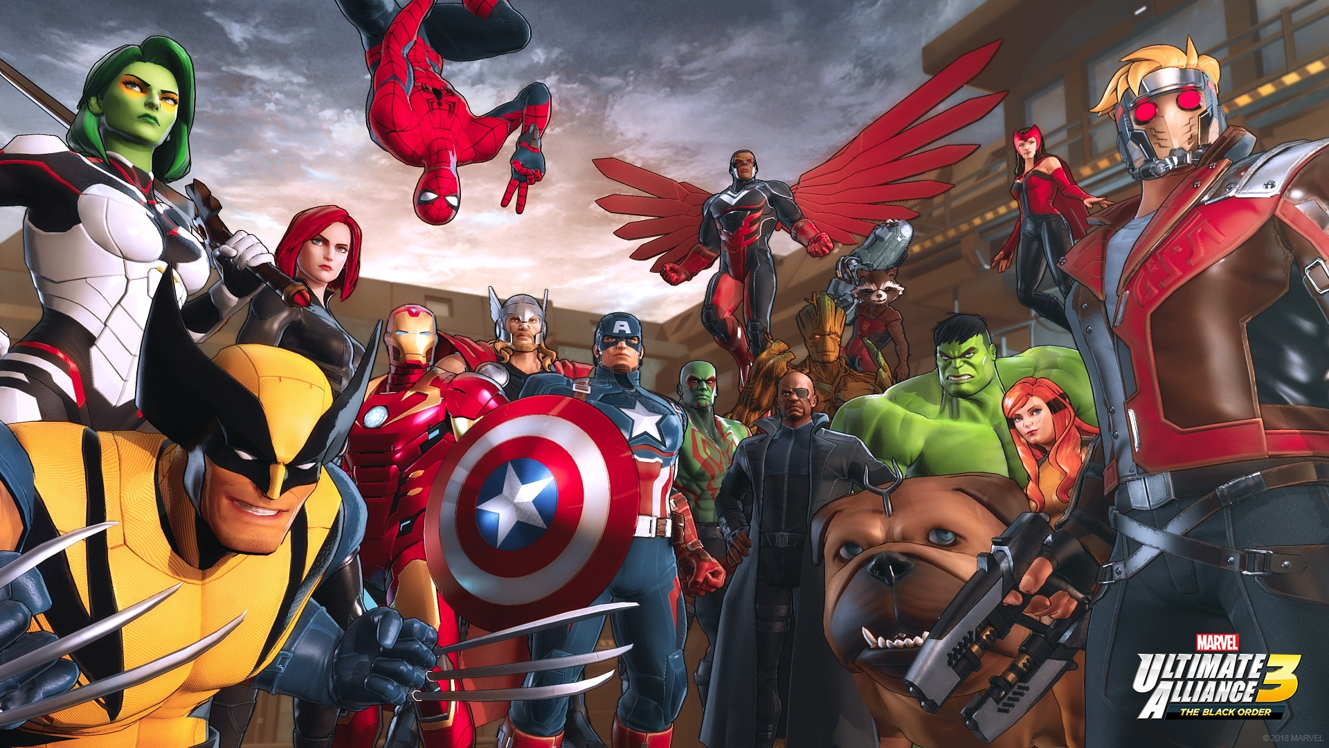 Marvel Ultimate Alliance 3: The Black Order   Jogo é anunciado como exclusivo do Nintendo Switch