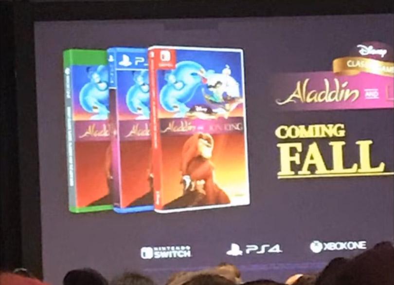 Disney | Jogos de Aladdin e O Rei Leão de SNES e Mega Drive serão remasterizados