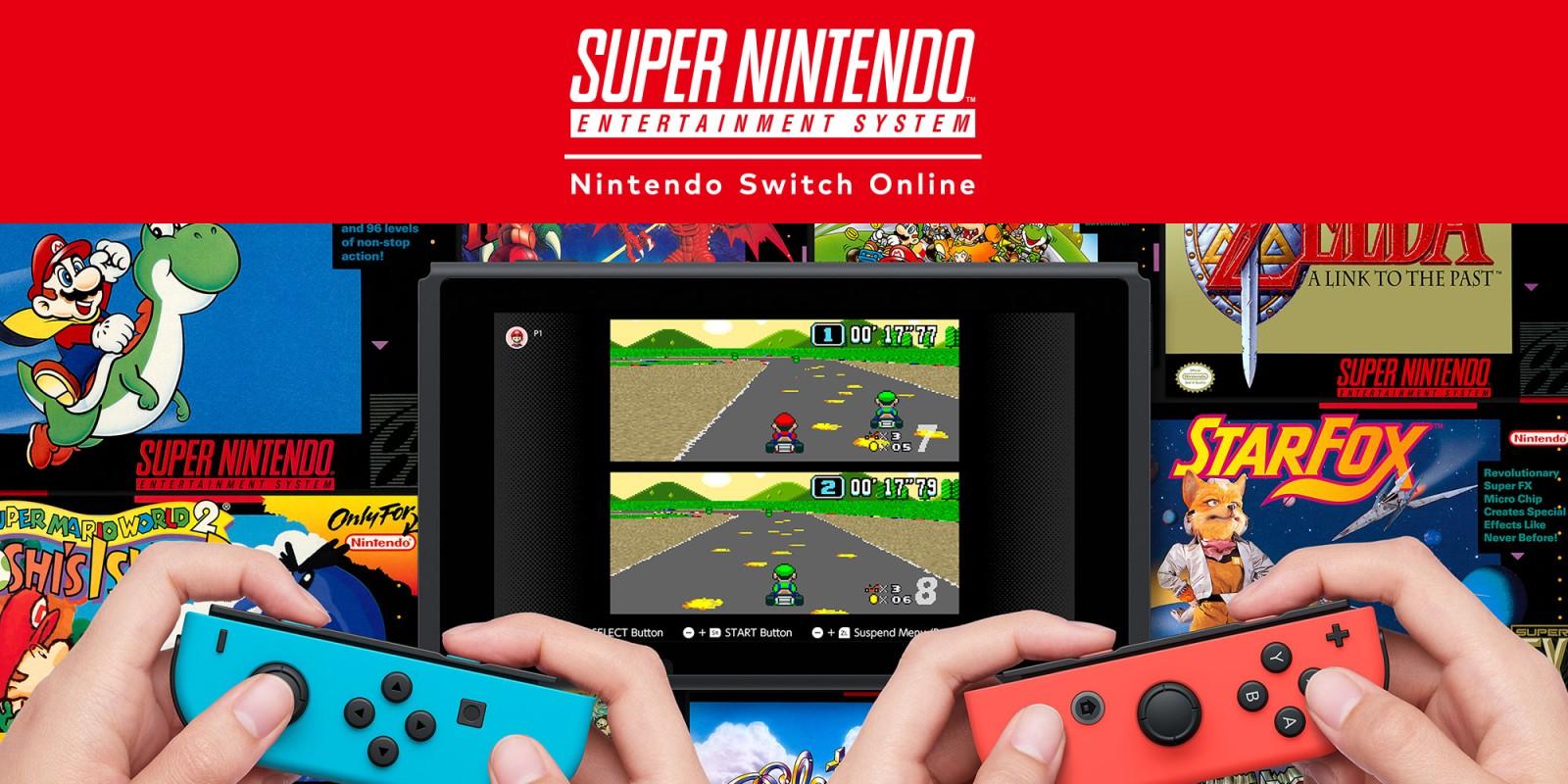 Nintendo Switch | Nintendo Switch Online terá jogos de Super Nintendo