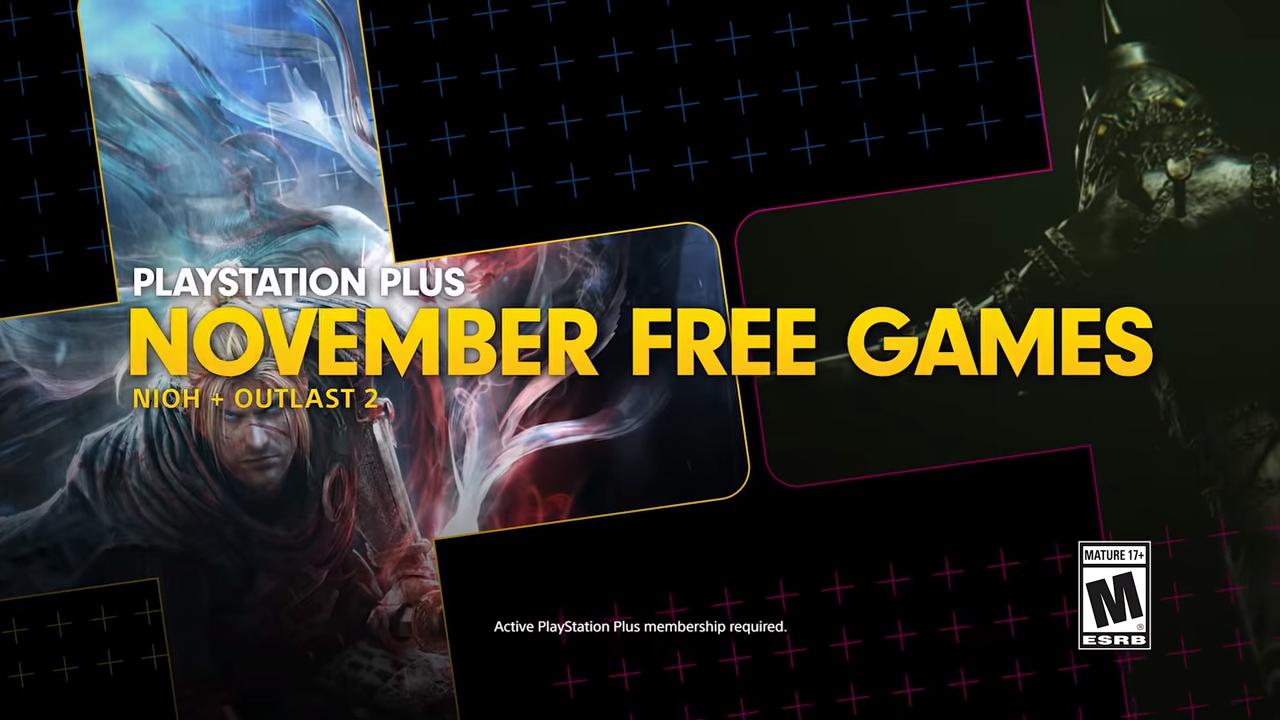 Playstation Plus | Nioh e Outlast 2 são os games da PS Plus de novembro